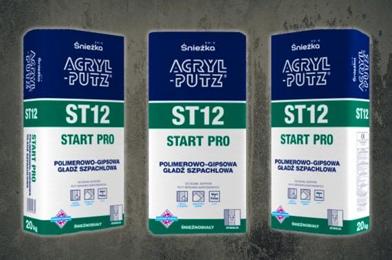 Nowy produkt Śnieżka ACRYL-PUTZ®